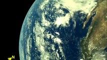 India publica primeras imágenes de la Tierra tomadas por su nave Chandrayaan-2 rumbo a la Luna