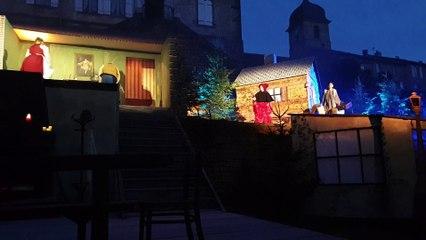 L'Odyssée interprète l'Auberge Rouge à Monthureux-sur-Saône