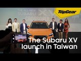 Our first glimpse at the Subaru XV in Taiwan