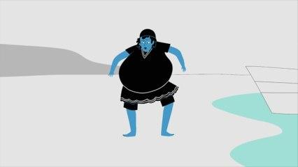 """Extrait de la série animée """"Culottés"""", bientôt sur France Télévisions  (Annette Kellerman)"""