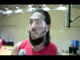 JARED DILLINGER'S FIRST PRACTICE WITH MERALCO