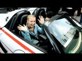 Mark Webber, Maria Sharapova and the Porsche 918 Spyder