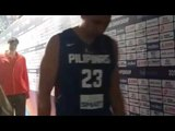 Gilas Pilipinas players return to the dugout after final against China