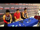 Post game interview with Coach Aldin Ayo, Mark Cruz, and Kent Racal