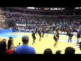 New Zealand team performs a haka before MVP Cup match against Gilas Pilipinas