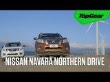 Driving the Nissan Navara to Pagudpud