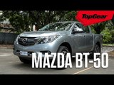 The refreshed Mazda BT-50 has landed