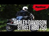 Riding the Harley-Davidson Street Rod 750 in Singapore