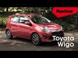 The new Toyota Wigo is a macho mini hatchback