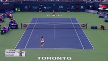 Eng VO: Maria Sharapova out of  Rogers Cup after losing to Anett Kontaveit