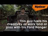 This guy fuels his creativity at work and at play with his Ford Ranger