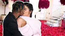 Travis Scott Covers Kylie Jenner's House in Rose Petals For Her 22nd Birthday