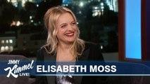 Elisabeth Moss on Oprah, Handmaid's Tale - Embarrassing Old Clip