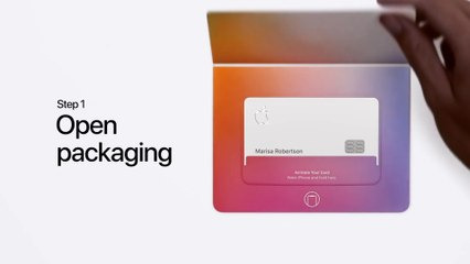 Apple Card — How to activate your titanium card with iPhone XS / XR — Apple