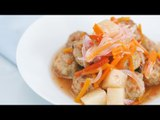 Pork Meatballs in Sweet and Sour Sauce Recipe | Yummy Ph