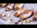 Inihaw na Pusit (Stuffed Grilled Squid) Recipe | Yummy Ph