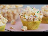 Funfetti Popcorn Cupcake Recipe | Yummy PH