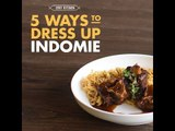5 Ways to Dress Up Your Instant Noodles