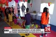 Colombia: darán nacionalidad a más de 24 mil niños de padres venezolanos nacidos en el país