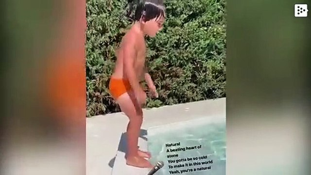 Mateo Messi stars in a new viral video