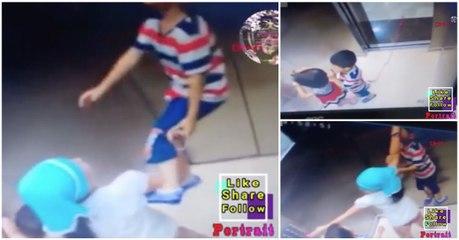 Menina salva irmão mais novo de se enforcar no elevador