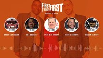First Things First Audio Podcast -8 5 19-Cris Carter, Nick Wright, Jenna Wolfe - FIRST THINGS FIRST