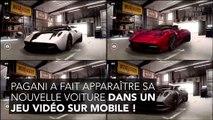 Pagani Huyra Roadster : un jeu vidéo pour faire la promo de cette supercar à 3 millions