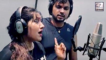 भोजपुरी की एक और एक्ट्रेस अपनी गायकी से मचा रही धमाल