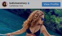 """Ludivine Retory, chroniqueuse de """"Touche pas à mon poste"""", resplendissante sur Instagram"""