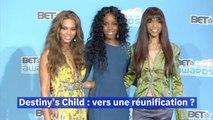 Destiny's Child une nouvelle tournée pour leur 20 ans ?