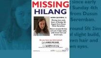 Nora Quoirin a disparu dans la nuit du 3 août à Dusun Resort en Malaisie