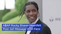 ASAP Rocky Is Grateful To Be Back In The States