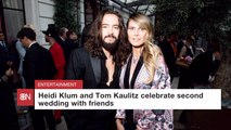 It's Heidi Klum And Tom Kaulitz' Second Wedding
