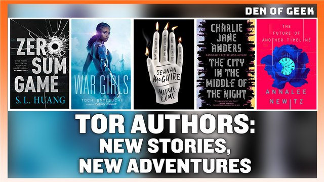 SDCC 2019: Interview With Tor Authors