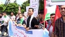 Lübnan Çalışma Bakanlığının uygulaması protesto edildi