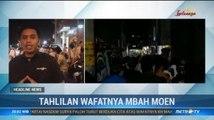 Ribuan Santri di Rembang Gelar Salat Gaib dan Tahlilan untuk Mbah Moen