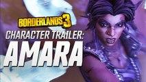 Borderlands 3 - Trailer personnage Amara