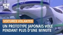 Au Japon, un prototype de voiture volante électrique vole pendant plus d'une minute