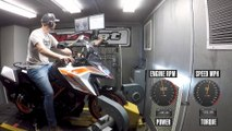 KTM 1290 Super Duke GT Dyno
