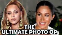Duchess Meghan - Beyonce Together At Lion King Premiere July 14th The Ultimate Photo Op?