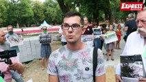 Protest w obronie parku Sienkiewicza