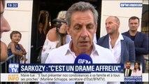 """""""C'est un drame affreux."""" Nicolas Sarkozy déplore la mort du maire de Signes renversé dans le Var"""