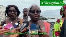 Crash d'hélicoptère à Conakry: la maire de Kaloum s'exprime...