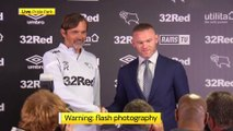 Wayne Rooney announces he will join Derby County as a player-coach in January | Press Conference