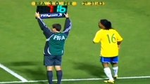 Ronaldinho's First Day of His Professional Career