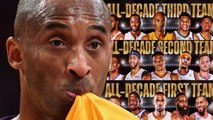 Kobe Bryant Fans SNAP After He Was Named To NBA ALL Decade THIRD Team Below Carmelo Anthony-
