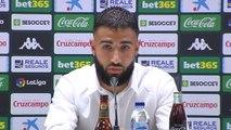 """Betis - Fekir : """"J'ai eu un contact avec le FC Séville"""""""