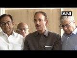 Article 370 Effectively Revoked: Ghulam Nabi azad, Chidambaram - Others Address Media