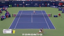 World No. 1 Ashleigh Barty knocked out of Rogers Cup in first round by Sofia Kenin