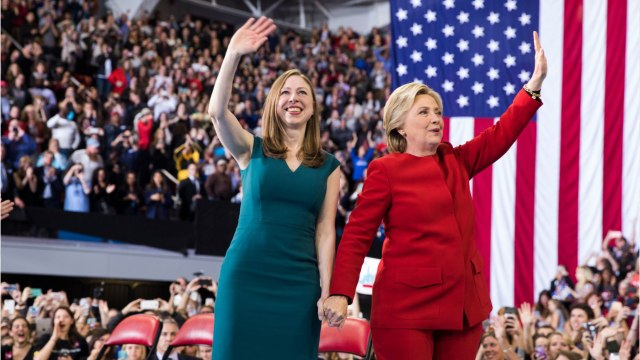 Hillary And Chelsea Clinton Have A New Book Spolighting 'Gutsy Women'